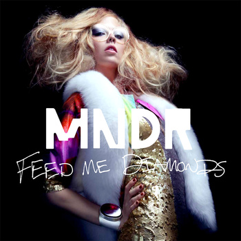 MNDR Feed Me Diamonds Vinyl LP Art