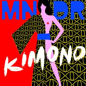 """MNDR """"Kimono"""" Cover Art"""