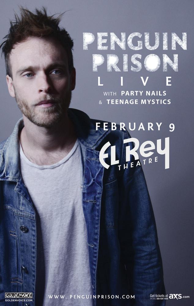 Penguin Prison Party Nails Live