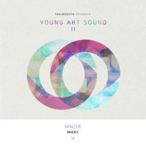 MNDR 'MARS' (Single) Artwork